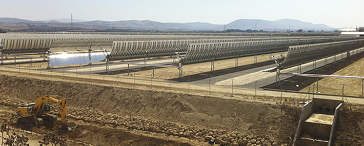 Thermosolar plants